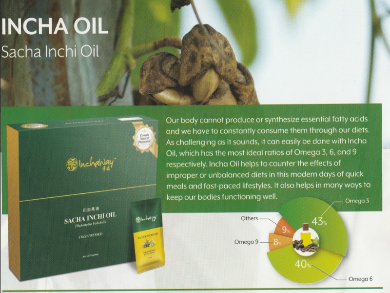 Sacha Inchi Oil Essential Fatty Acids