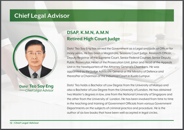 14 Inchaway Chief Legal Advisor